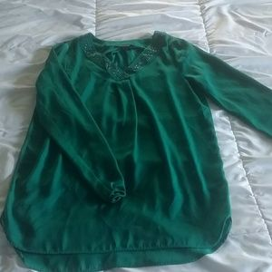 Green blouse from Apt. 9, size XS